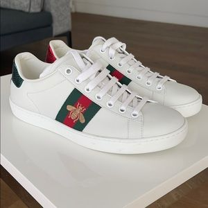 Gucci white sneakers 36